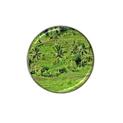Greenery Paddy Fields Rice Crops Hat Clip Ball Marker by Nexatart