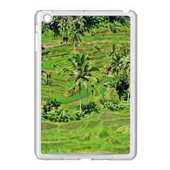 Greenery Paddy Fields Rice Crops Apple Ipad Mini Case (white)