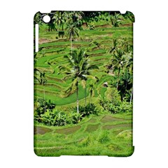 Greenery Paddy Fields Rice Crops Apple Ipad Mini Hardshell Case (compatible With Smart Cover)
