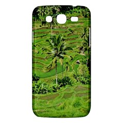 Greenery Paddy Fields Rice Crops Samsung Galaxy Mega 5 8 I9152 Hardshell Case
