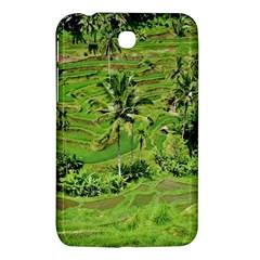 Greenery Paddy Fields Rice Crops Samsung Galaxy Tab 3 (7 ) P3200 Hardshell Case