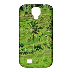 Greenery Paddy Fields Rice Crops Samsung Galaxy S4 Classic Hardshell Case (pc+silicone)