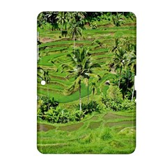 Greenery Paddy Fields Rice Crops Samsung Galaxy Tab 2 (10 1 ) P5100 Hardshell Case