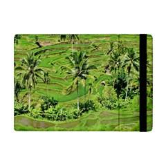 Greenery Paddy Fields Rice Crops iPad Mini 2 Flip Cases