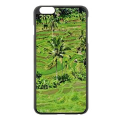 Greenery Paddy Fields Rice Crops Apple Iphone 6 Plus/6s Plus Black Enamel Case