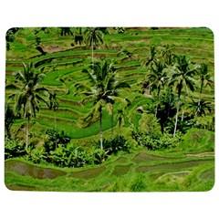 Greenery Paddy Fields Rice Crops Jigsaw Puzzle Photo Stand (Rectangular)