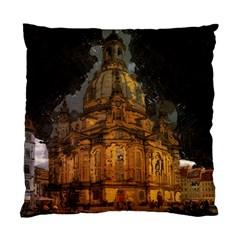 Dresden Frauenkirche Church Saxony Standard Cushion Case (one Side)