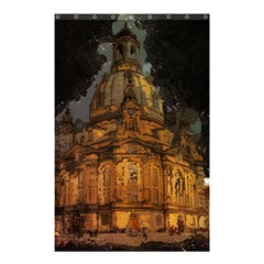 Dresden Frauenkirche Church Saxony Shower Curtain 48  X 72  (small)