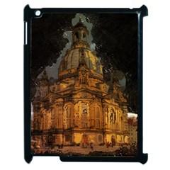 Dresden Frauenkirche Church Saxony Apple Ipad 2 Case (black) by Nexatart