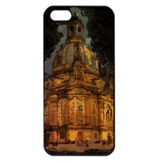 Dresden Frauenkirche Church Saxony Apple Iphone 5 Seamless Case (black)