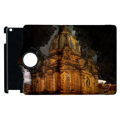 Dresden Frauenkirche Church Saxony Apple Ipad 3/4 Flip 360 Case