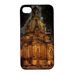 Dresden Frauenkirche Church Saxony Apple Iphone 4/4s Hardshell Case With Stand