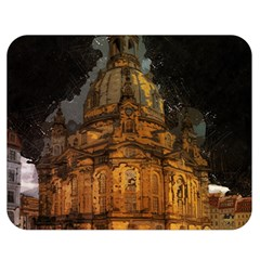 Dresden Frauenkirche Church Saxony Double Sided Flano Blanket (medium)  by Nexatart