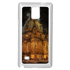 Dresden Frauenkirche Church Saxony Samsung Galaxy Note 4 Case (white)