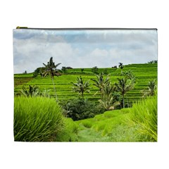 Bali Rice Terraces Landscape Rice Cosmetic Bag (xl)