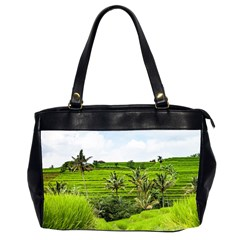 Bali Rice Terraces Landscape Rice Office Handbags (2 Sides)