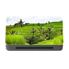 Bali Rice Terraces Landscape Rice Memory Card Reader With Cf by Nexatart