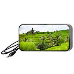 Bali Rice Terraces Landscape Rice Portable Speaker (black)