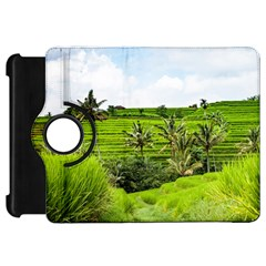 Bali Rice Terraces Landscape Rice Kindle Fire Hd 7  by Nexatart
