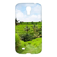 Bali Rice Terraces Landscape Rice Samsung Galaxy S4 I9500/i9505 Hardshell Case