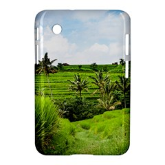 Bali Rice Terraces Landscape Rice Samsung Galaxy Tab 2 (7 ) P3100 Hardshell Case