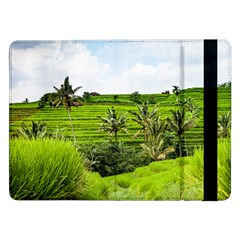 Bali Rice Terraces Landscape Rice Samsung Galaxy Tab Pro 12 2  Flip Case