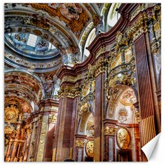 Baroque Church Collegiate Church Canvas 20  X 20
