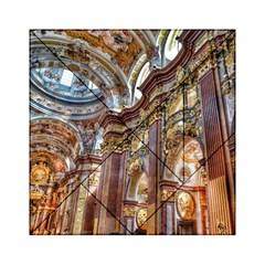 Baroque Church Collegiate Church Acrylic Tangram Puzzle (6  X 6 ) by Nexatart
