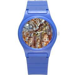 Baroque Church Collegiate Church Round Plastic Sport Watch (s)