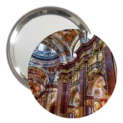 Baroque Church Collegiate Church 3  Handbag Mirrors