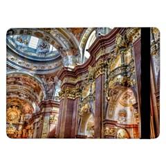 Baroque Church Collegiate Church Samsung Galaxy Tab Pro 12 2  Flip Case