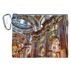 Baroque Church Collegiate Church Canvas Cosmetic Bag (xxl) by Nexatart