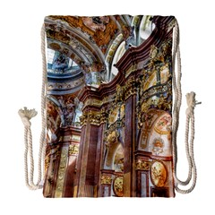 Baroque Church Collegiate Church Drawstring Bag (large)