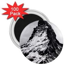 Matterhorn Switzerland Mountain 2 25  Magnets (100 Pack)