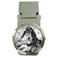 Matterhorn Switzerland Mountain Money Clip Watches by Nexatart