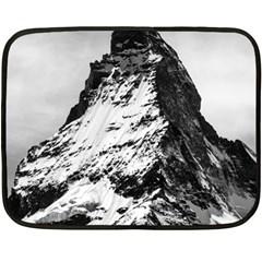 Matterhorn Switzerland Mountain Double Sided Fleece Blanket (mini)  by Nexatart