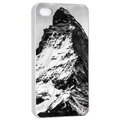 Matterhorn Switzerland Mountain Apple Iphone 4/4s Seamless Case (white)