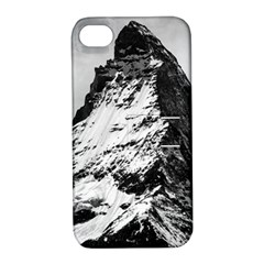 Matterhorn Switzerland Mountain Apple Iphone 4/4s Hardshell Case With Stand by Nexatart