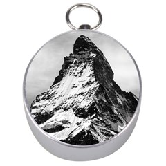 Matterhorn Switzerland Mountain Silver Compasses