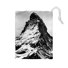 Matterhorn Switzerland Mountain Drawstring Pouches (large)  by Nexatart