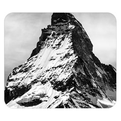 Matterhorn Switzerland Mountain Double Sided Flano Blanket (small)