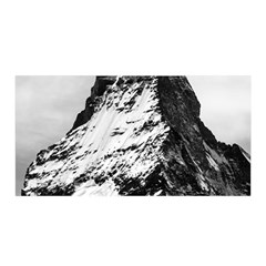Matterhorn Switzerland Mountain Satin Wrap