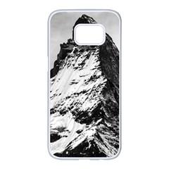 Matterhorn Switzerland Mountain Samsung Galaxy S7 Edge White Seamless Case
