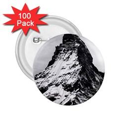 Matterhorn Switzerland Mountain 2 25  Buttons (100 Pack)