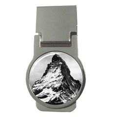 Matterhorn Switzerland Mountain Money Clips (round)  by Nexatart