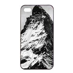 Matterhorn Switzerland Mountain Apple Iphone 4/4s Seamless Case (black) by Nexatart