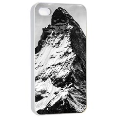 Matterhorn Switzerland Mountain Apple Iphone 4/4s Seamless Case (white)