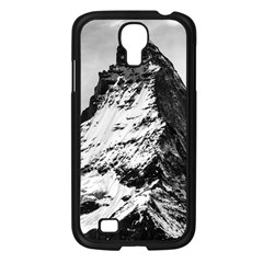 Matterhorn Switzerland Mountain Samsung Galaxy S4 I9500/ I9505 Case (black) by Nexatart