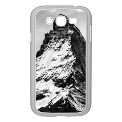 Matterhorn Switzerland Mountain Samsung Galaxy Grand Duos I9082 Case (white) by Nexatart