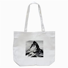 Matterhorn Switzerland Mountain Tote Bag (white)